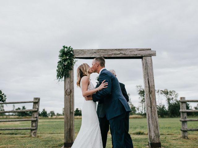 Travis and Alexandra's wedding in Port Elgin, Ontario 37
