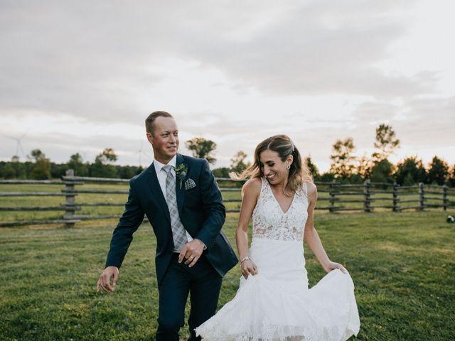 Travis and Alexandra's wedding in Port Elgin, Ontario 32