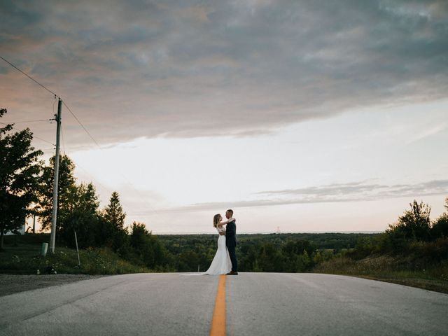 The wedding of Alexandra and Travis