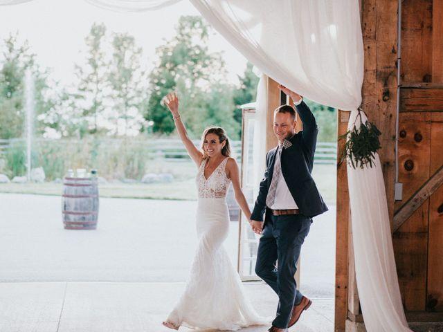 Travis and Alexandra's wedding in Port Elgin, Ontario 42