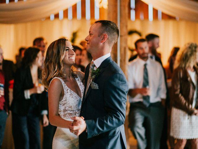 Travis and Alexandra's wedding in Port Elgin, Ontario 2
