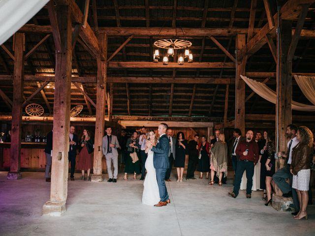 Travis and Alexandra's wedding in Port Elgin, Ontario 43