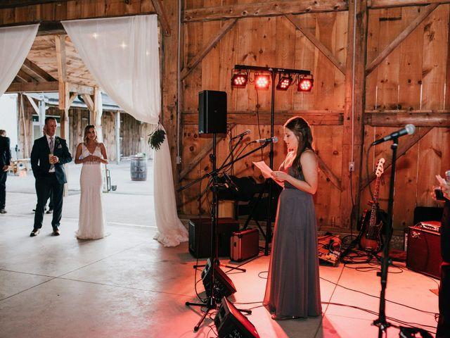 Travis and Alexandra's wedding in Port Elgin, Ontario 56
