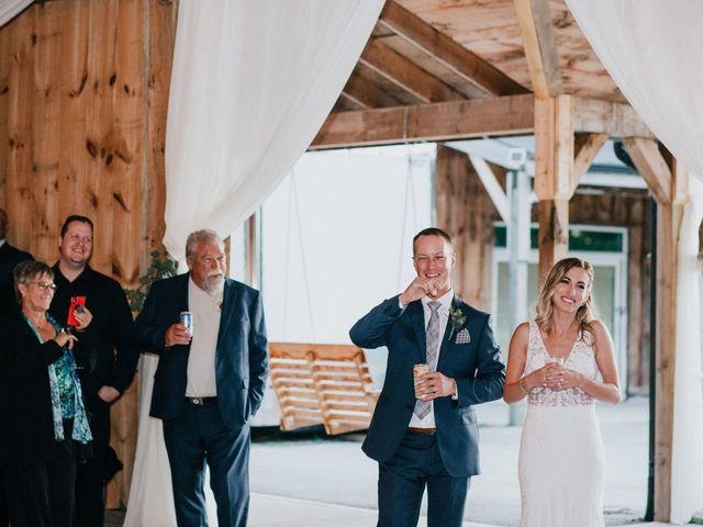 Travis and Alexandra's wedding in Port Elgin, Ontario 53