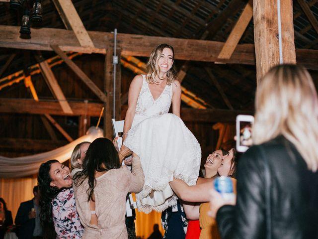 Travis and Alexandra's wedding in Port Elgin, Ontario 48