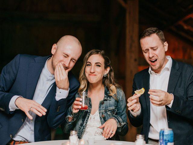 Travis and Alexandra's wedding in Port Elgin, Ontario 46