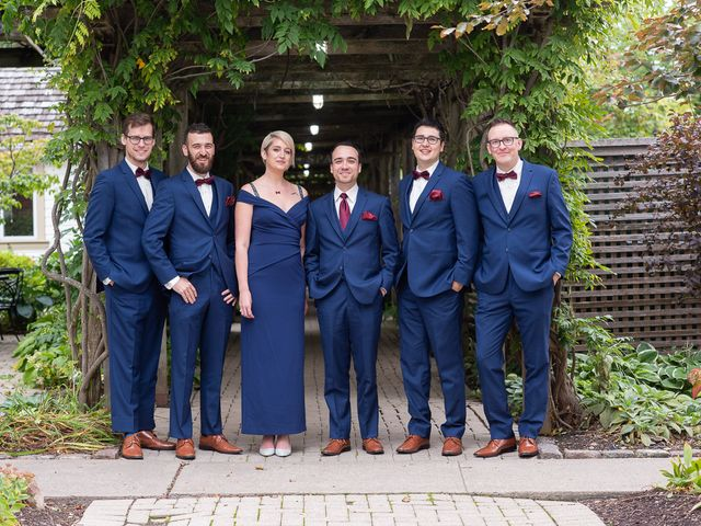 Cody and Beth's wedding in Jordan Station, Ontario 15