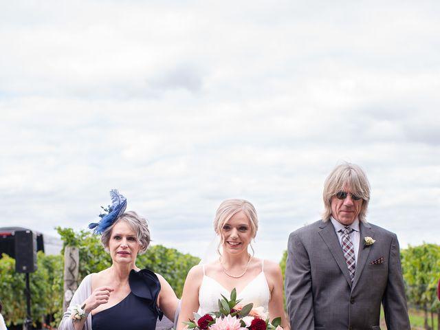 Cody and Beth's wedding in Jordan Station, Ontario 21