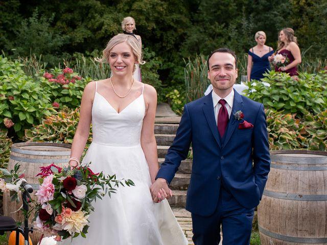 Cody and Beth's wedding in Jordan Station, Ontario 25