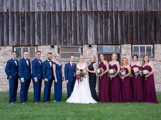 Cody and Beth's wedding in Jordan Station, Ontario 31