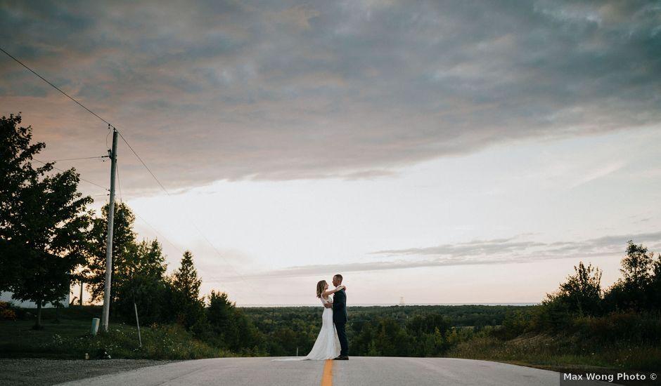 Travis and Alexandra's wedding in Port Elgin, Ontario