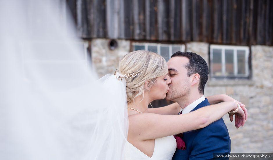 Cody and Beth's wedding in Jordan Station, Ontario