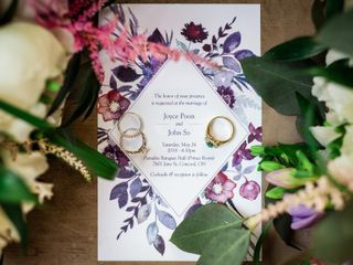 The wedding of Joyce and John 1