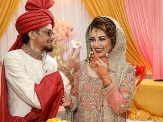 The wedding of Hafsa and Tafa