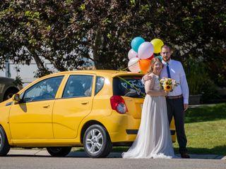 The wedding of Bri and Kris