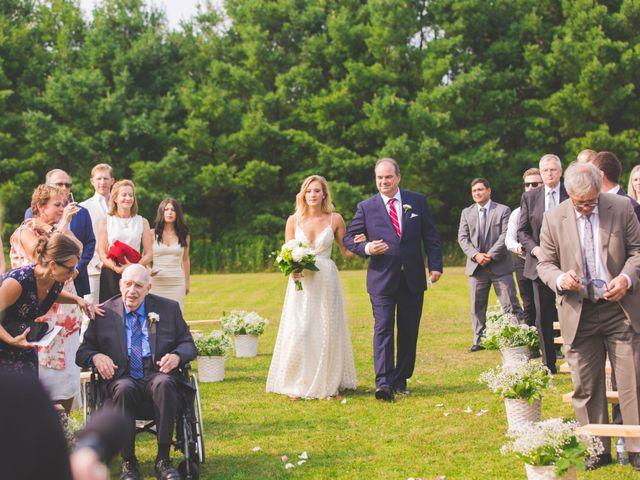Ryan and Kelsey's wedding in Hepworth, Ontario 11