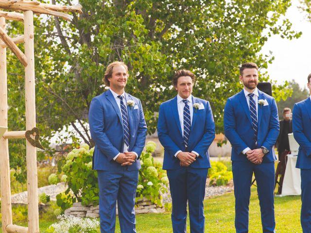 Ryan and Kelsey's wedding in Hepworth, Ontario 12