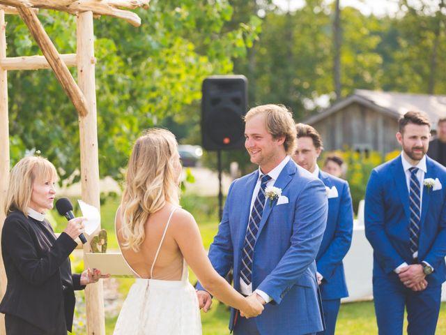 Ryan and Kelsey's wedding in Hepworth, Ontario 13