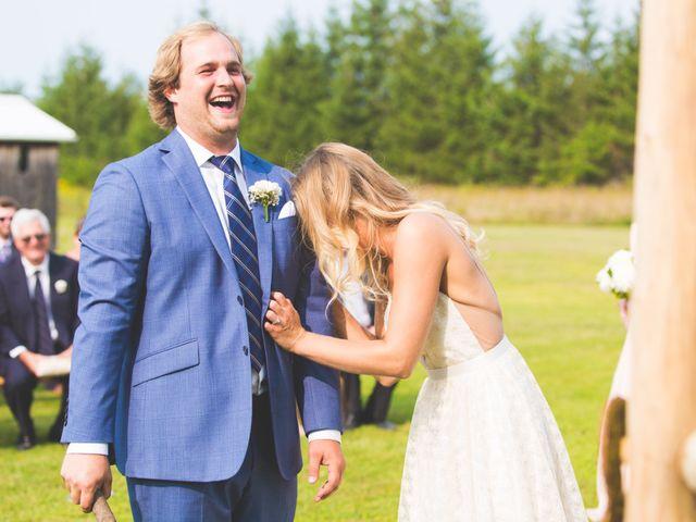 Ryan and Kelsey's wedding in Hepworth, Ontario 17