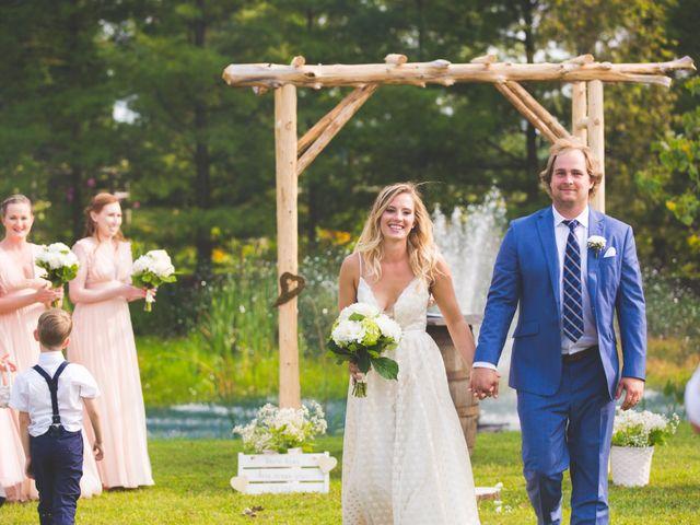 Ryan and Kelsey's wedding in Hepworth, Ontario 18