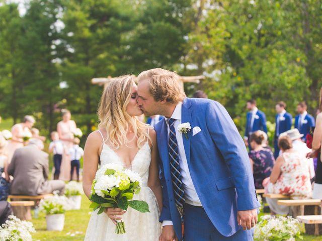 Ryan and Kelsey's wedding in Hepworth, Ontario 19