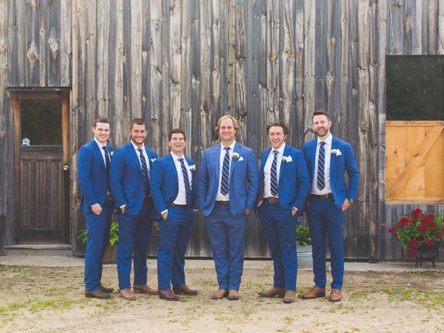 Ryan and Kelsey's wedding in Hepworth, Ontario 25