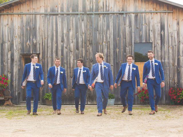 Ryan and Kelsey's wedding in Hepworth, Ontario 27