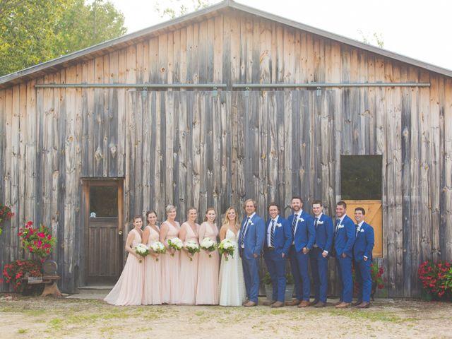Ryan and Kelsey's wedding in Hepworth, Ontario 28