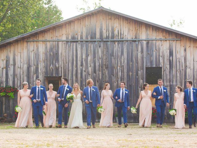 Ryan and Kelsey's wedding in Hepworth, Ontario 29