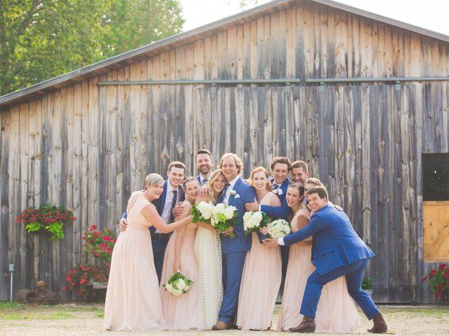Ryan and Kelsey's wedding in Hepworth, Ontario 30