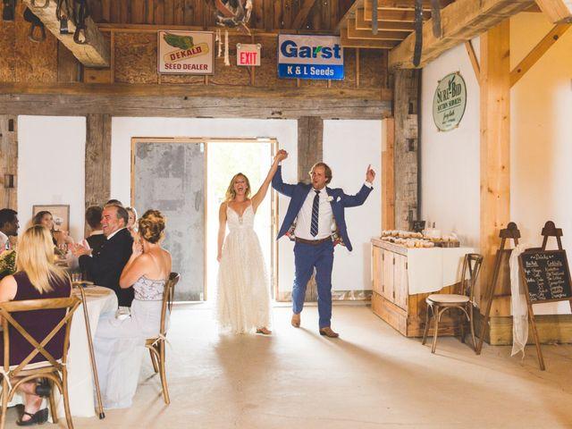 Ryan and Kelsey's wedding in Hepworth, Ontario 40