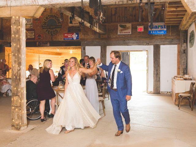 Ryan and Kelsey's wedding in Hepworth, Ontario 41