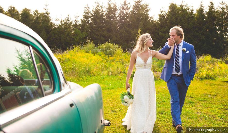 Ryan and Kelsey's wedding in Hepworth, Ontario