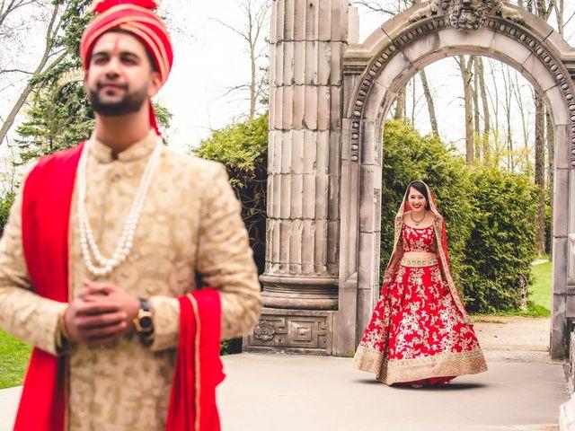 The wedding of Pauline and Ritesh