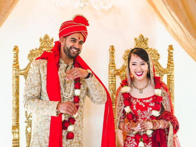Ritesh and Pauline's wedding in Scarborough, Ontario 1