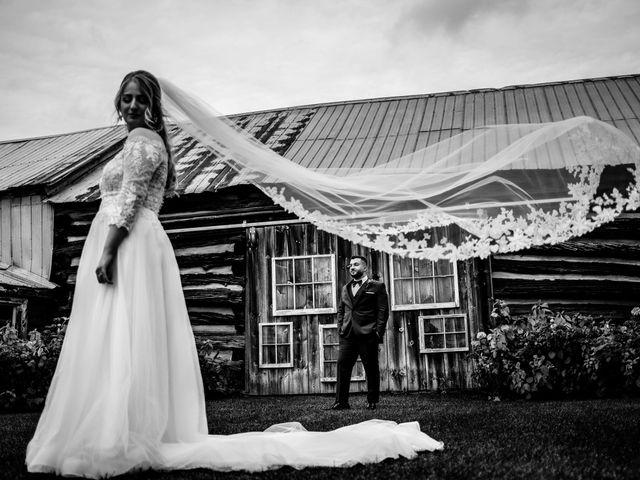 The wedding of Lisa and Taif