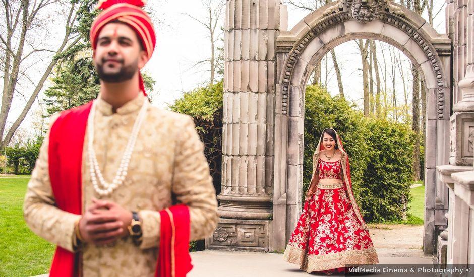 Ritesh and Pauline's wedding in Scarborough, Ontario