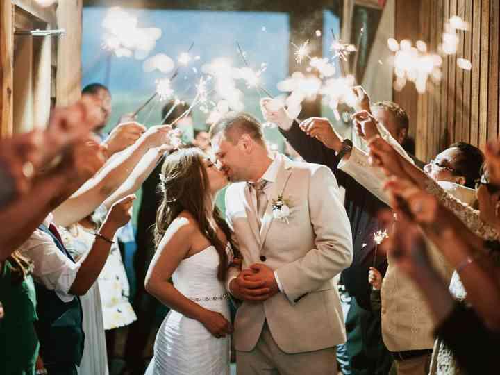 The wedding of Igor and Christine