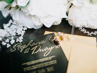 The wedding of Stephanie and Dwayne 1