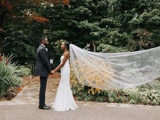 The wedding of Stephanie and Dwayne