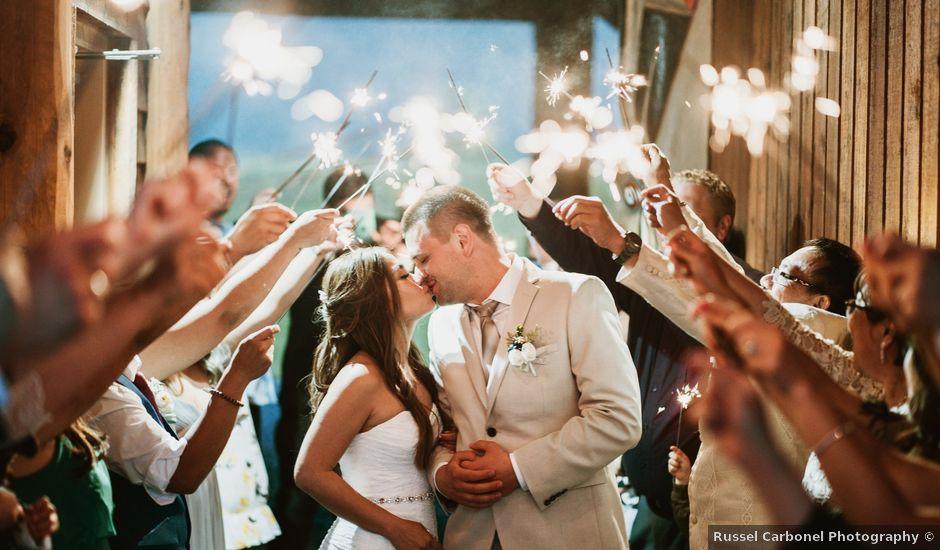Christine and Igor's wedding in Agassiz, British Columbia