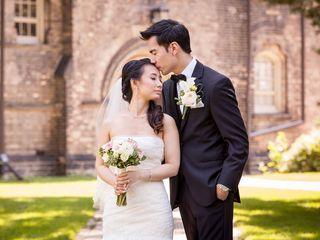 The wedding of Vanessa and Murray
