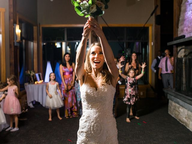 James and Holly's wedding in Golden, British Columbia 3