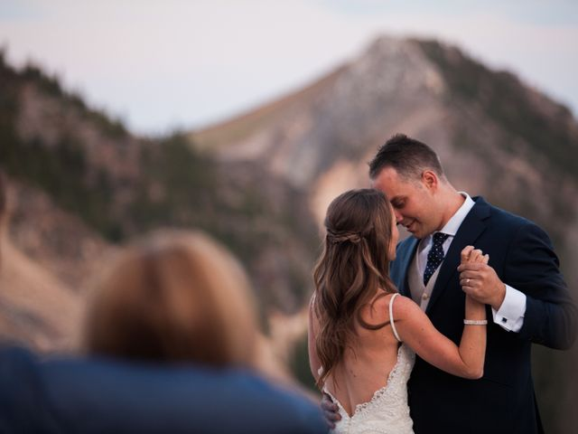 James and Holly's wedding in Golden, British Columbia 4