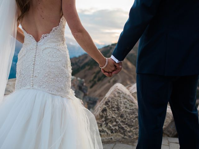James and Holly's wedding in Golden, British Columbia 6