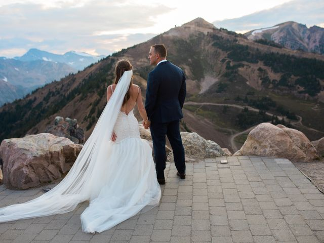 James and Holly's wedding in Golden, British Columbia 7