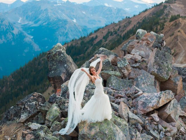 James and Holly's wedding in Golden, British Columbia 8