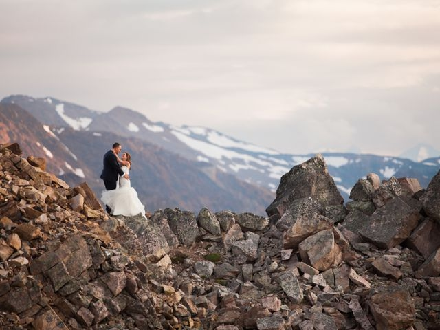 James and Holly's wedding in Golden, British Columbia 9