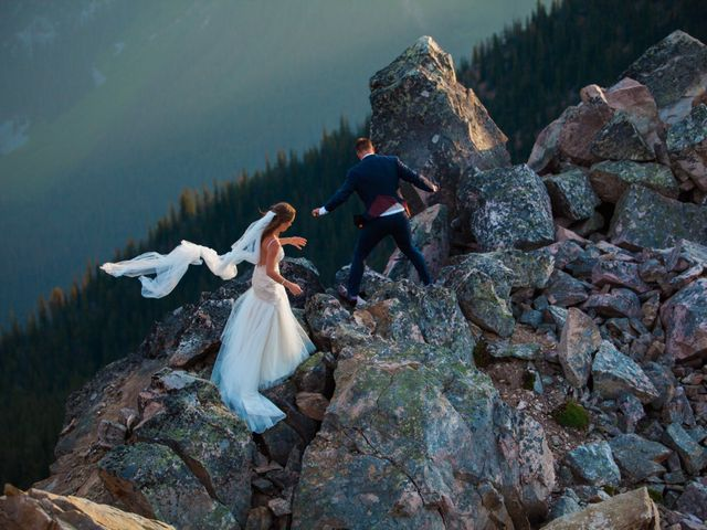 James and Holly's wedding in Golden, British Columbia 10
