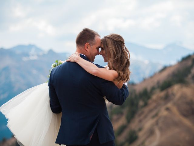 James and Holly's wedding in Golden, British Columbia 16